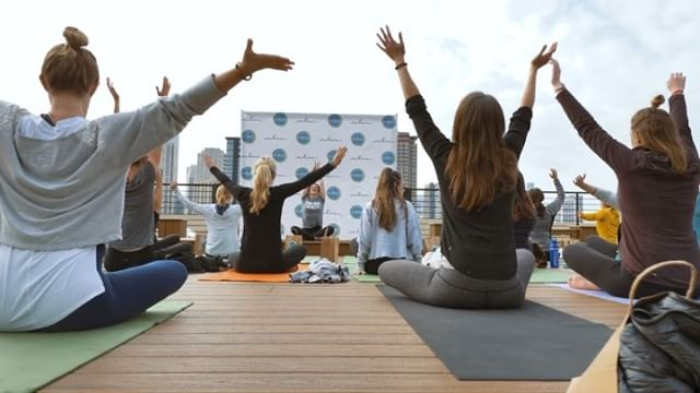 @embracemh is bringing Suicide Prevention to College and University Campuses. They're speaking out to eliminate the stigma of mental health. Check out the highlight video we made for their Wake Up & Embrace Mental Health event! #suicideprevention #mentalhealth #embrace #yoga #rooftop #chicago