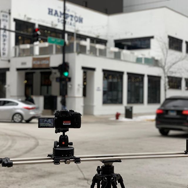 Shooting a #timelapse with the @rhinocg  motion and arc. #realestate #gh5 #rhinoslider @thehamptonsocial