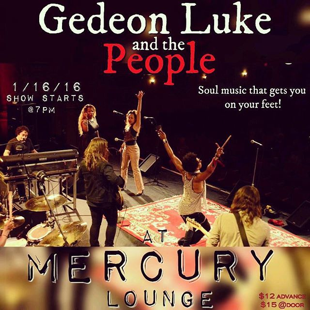 #NYC The People are coming home for our 1st show of the #New Year. Saturday January 16 @mercuryloungeny.  TICKETS ARE ON SALE NOW FOR THIS night of #funky #Soul at www.ticketmaster.com #apap  #Apapconference2016 #ticketmaster