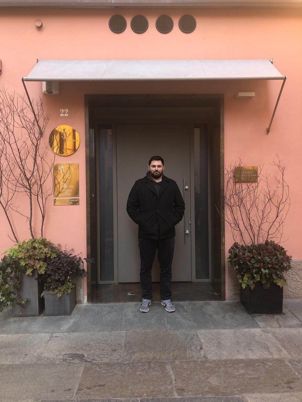 Vinnie at Osteria Francescana