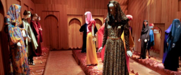 """Yves Saint Laurent and Morocco"" - Exhibition at the Jardin Majorelle, Marrakech 2010-2011"