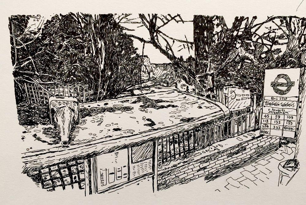 Bus Stop, Streatham