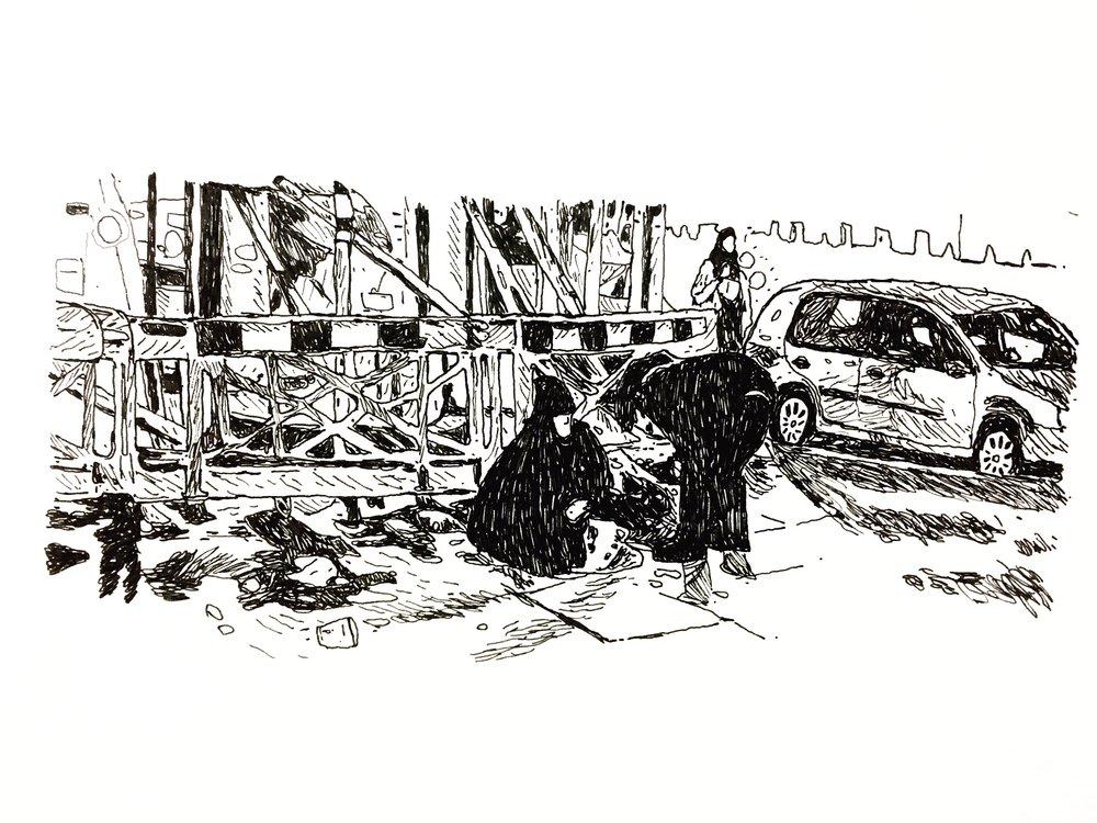 Homeless. The Strand, London