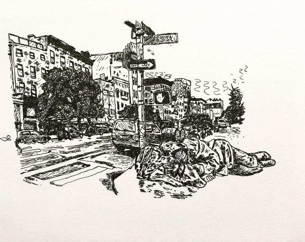 Homeless, Manhattan 2017