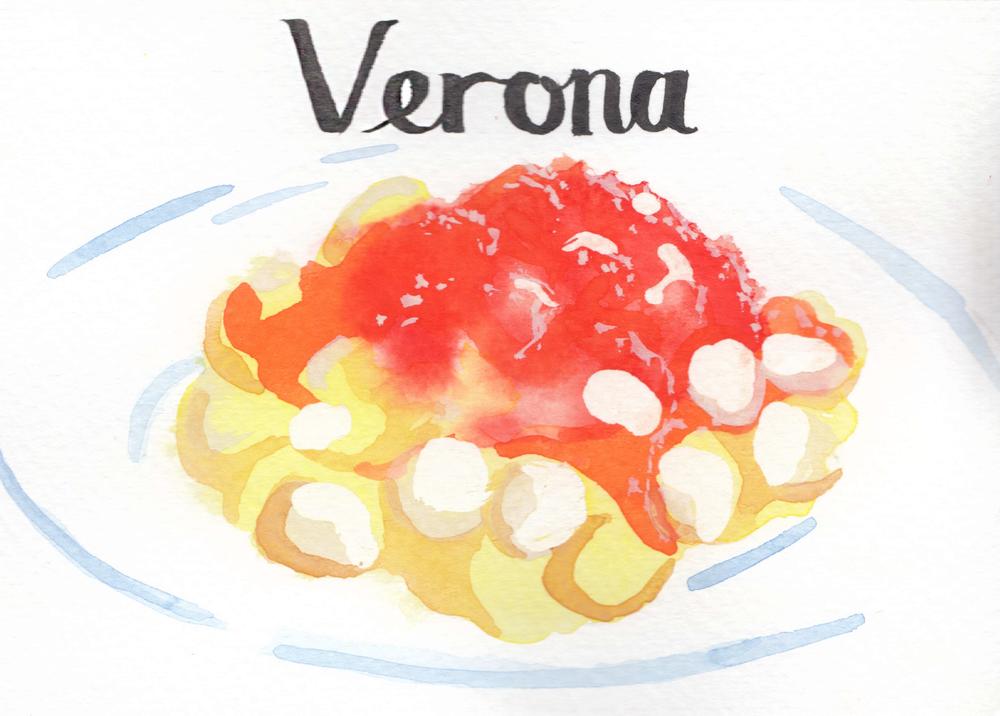 Verona: Gnocchi Pomodoro
