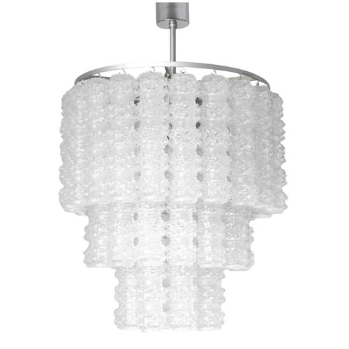 Murano textured glass tubes chandelier by venini fabio ltd murano textured glass tubes chandelier by venini aloadofball Image collections