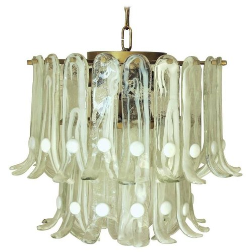 Italian vintage murano glass chandelier by mazzega fabio ltd italian vintage murano glass chandelier by mazzega aloadofball Images