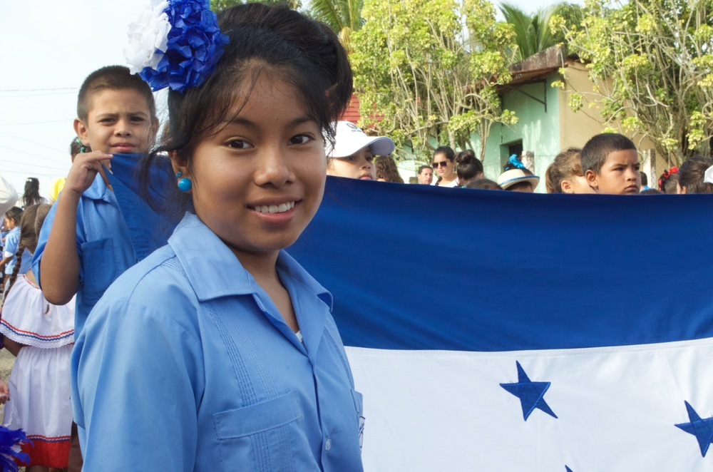 Honduran Independence Day parade, September 2015