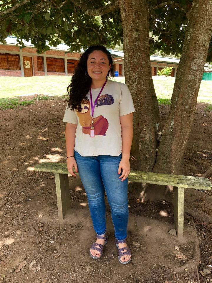 Amelia Sierra, 23    Hometown:  Amory, MS  University:  Mississippi State University Graduated in May with a major in educational psychology, and a double minor in psychology and international studies  Escuelita role:  Co-leader of Escuelita and music teacher