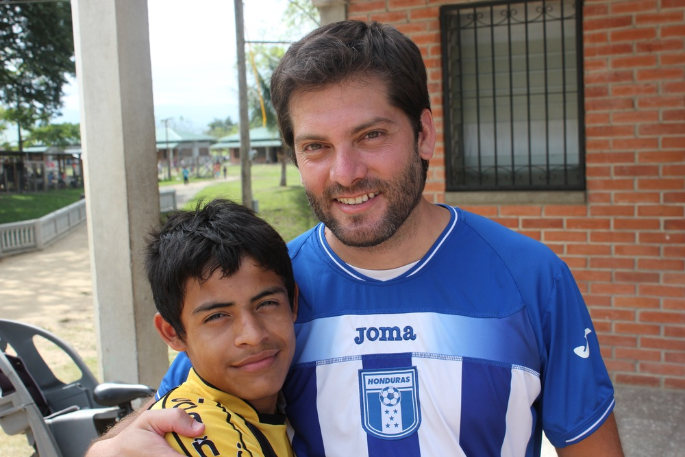 Andres and Pato (a seminarian from Argentina who will be arriving in Honduras on July 28th to live with us long-term)