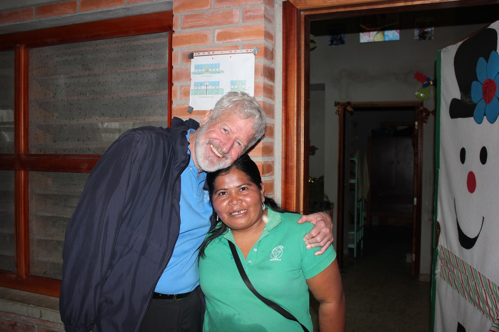 Fr. Dennis and Madrina Martha in January 2016