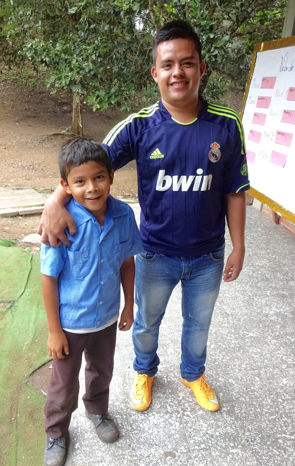 Age: 22 Hometown: Santa Rosa de Copán Position: Special Education Teacher