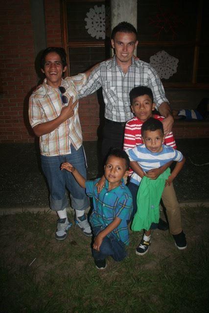 Padrino Antonio and some of his boys.