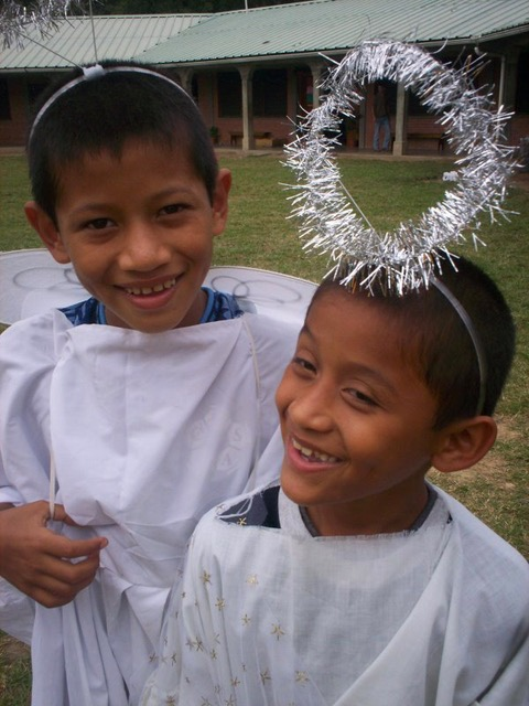 Juan* and his younger brother.