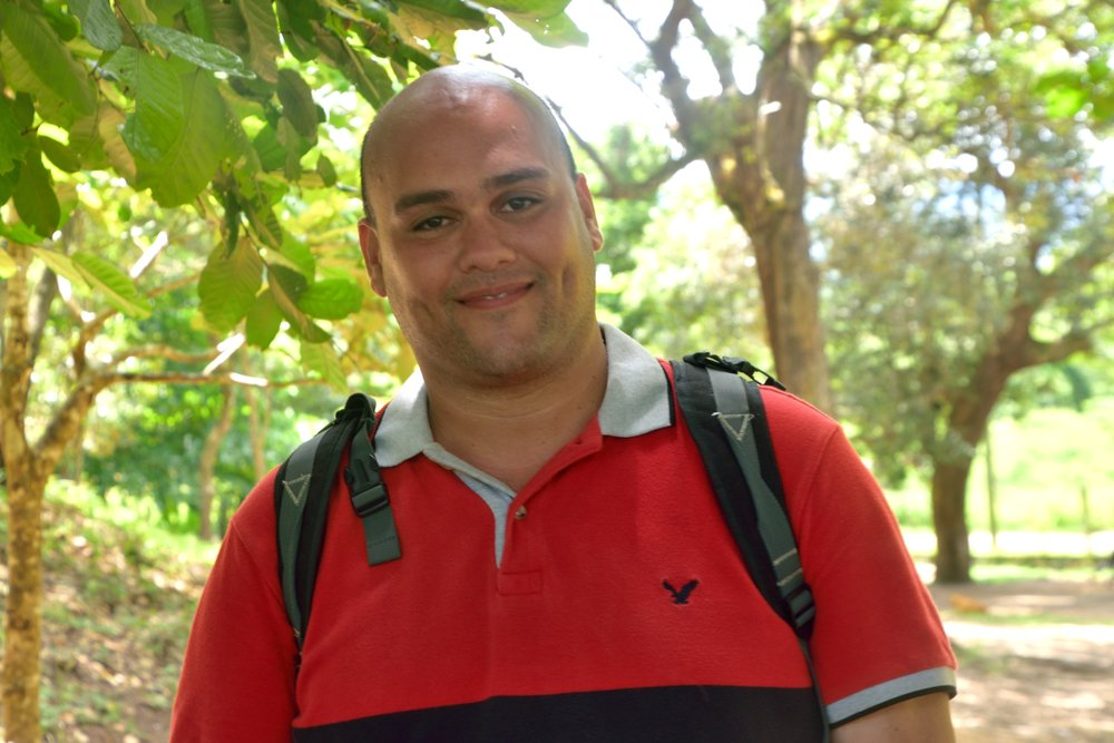 Angel Martinez, 35  Hometown:  South Bronx, NY  University/Major:  Hostos University, Criminal Justice Administration  Role in Escuelita: Swim Instructor