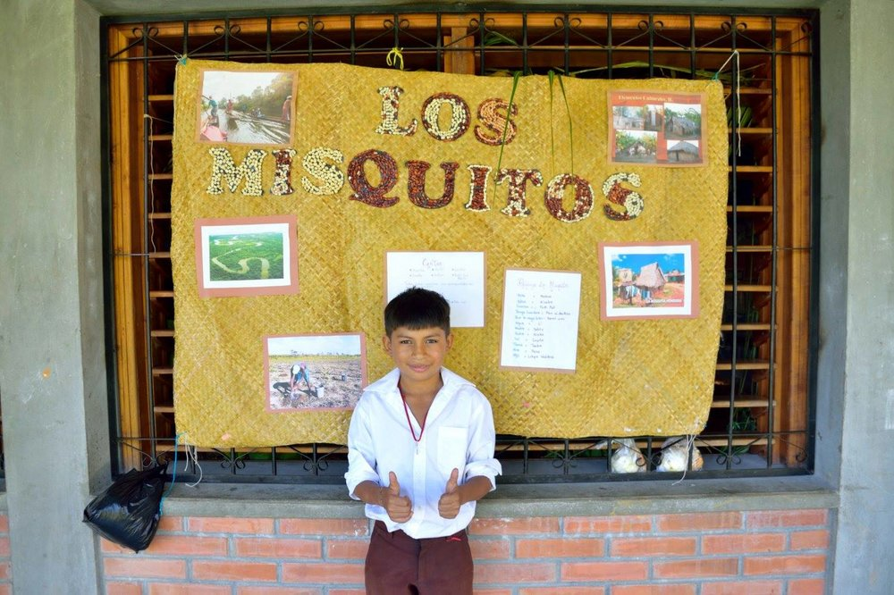 "Presenting on the native Honduran tribe ""Los Mosquitos"" on National Identity Day in June 2017"