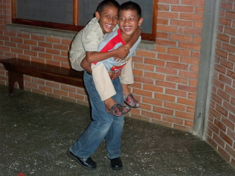 Santino and his older brother, Josias*, have always been very close (cerca 2009).