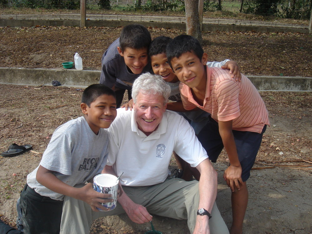 - Father Dennis O'Donnell, President and Co-Founder of Amigos de Jesús