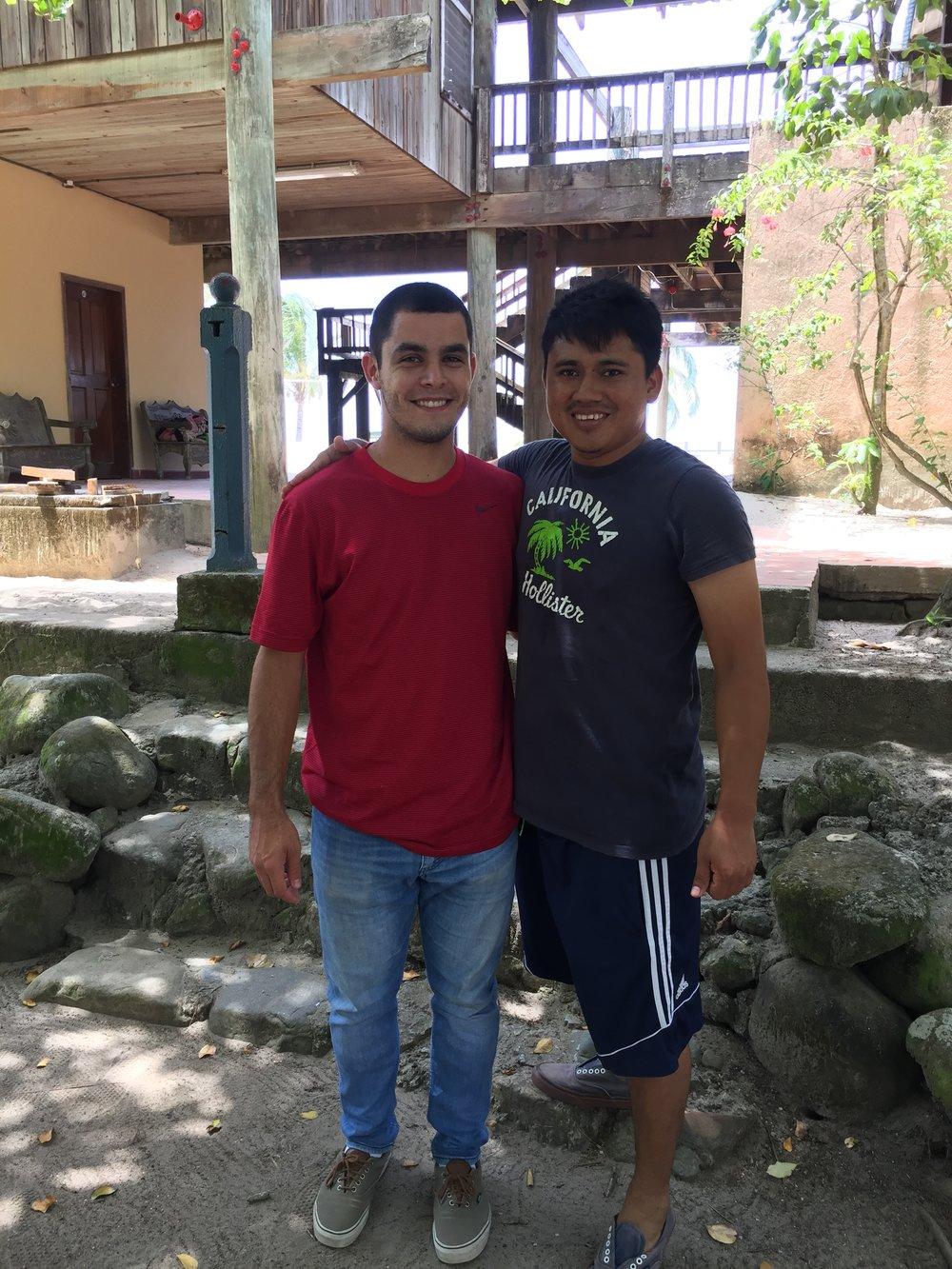 May 21 2017 Tela retreat Miguel.JPG