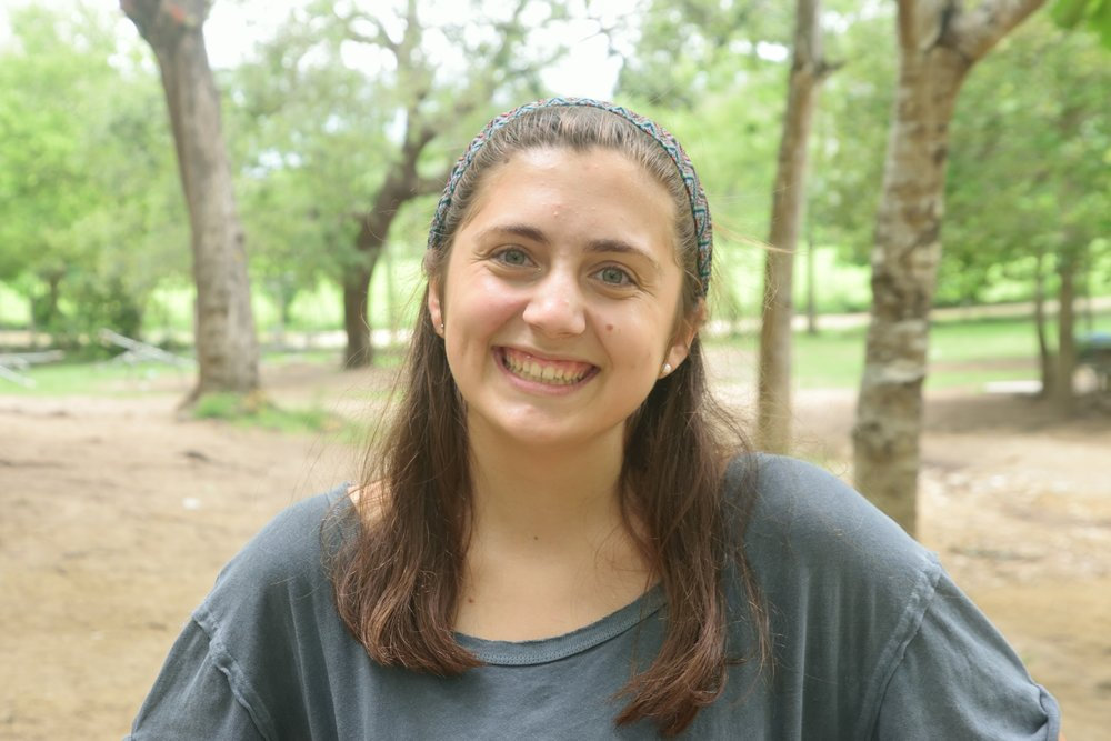 Leah Meissner, 19     Hometown:  Waxhaw, North Carolina  University/Degree:  University of South Carolina, Nursing Major  Role in Escuelita:  Art Teacher   Favorite thing about Escuelita so far:  Getting to know the kids personally and interact/play with them outside the classroom and loving everyone I've met!