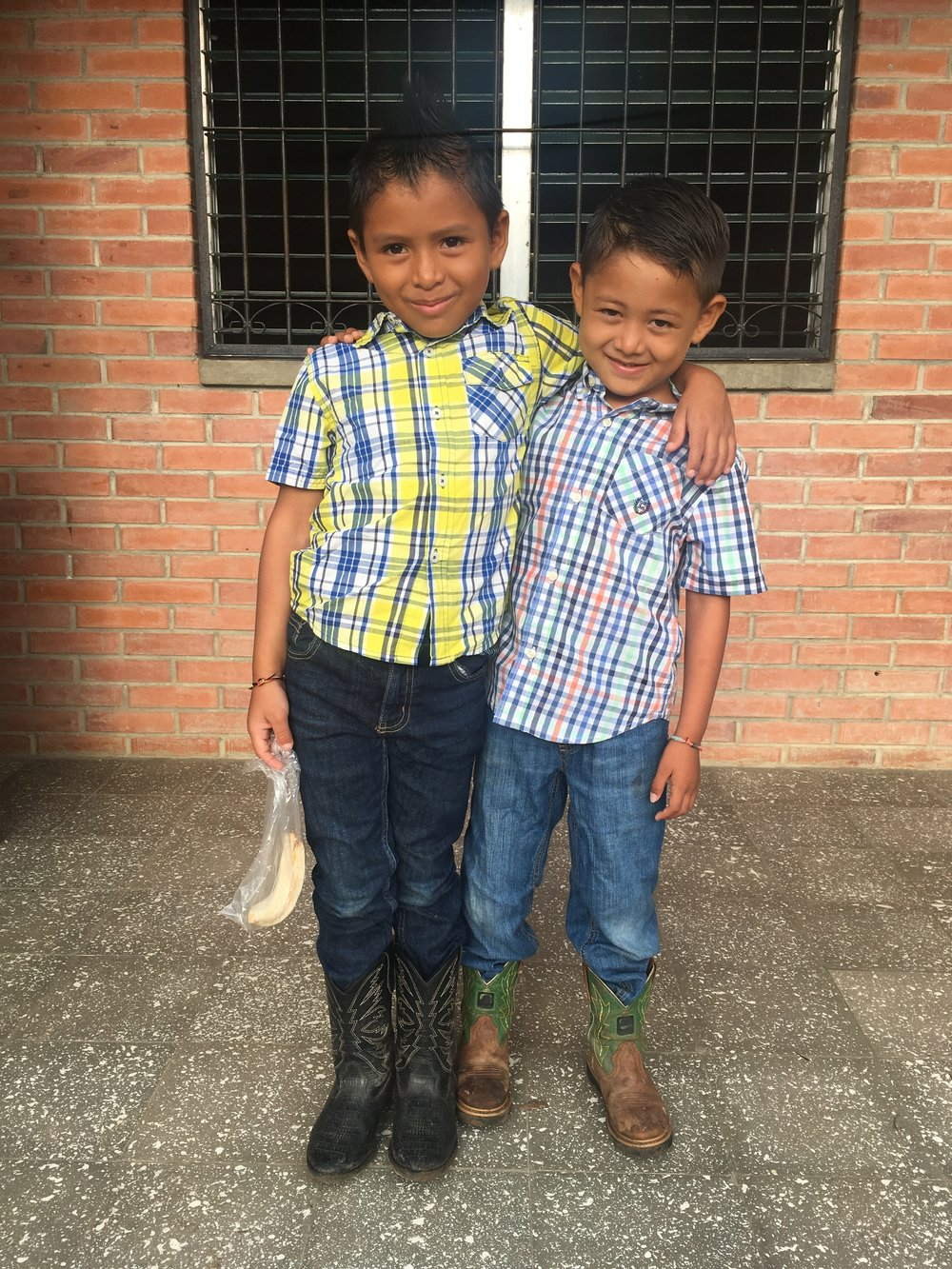 Brothers in Boots!