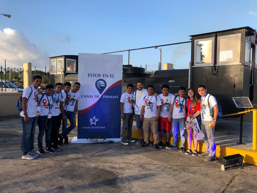 Visiting the Panama Canal was a highlight for many, especially those studying engineering.