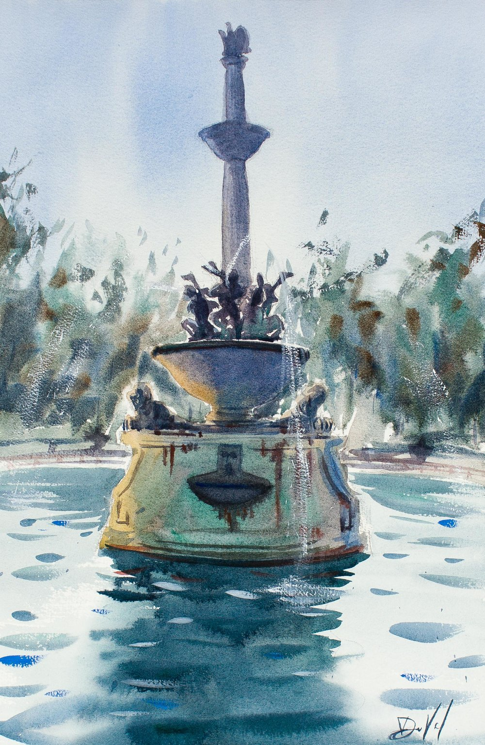 Lincoln Park Fountain