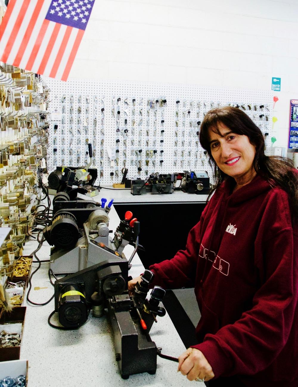 Elyse Rothstein -Industrial Lock & Security, El Segundo, CA