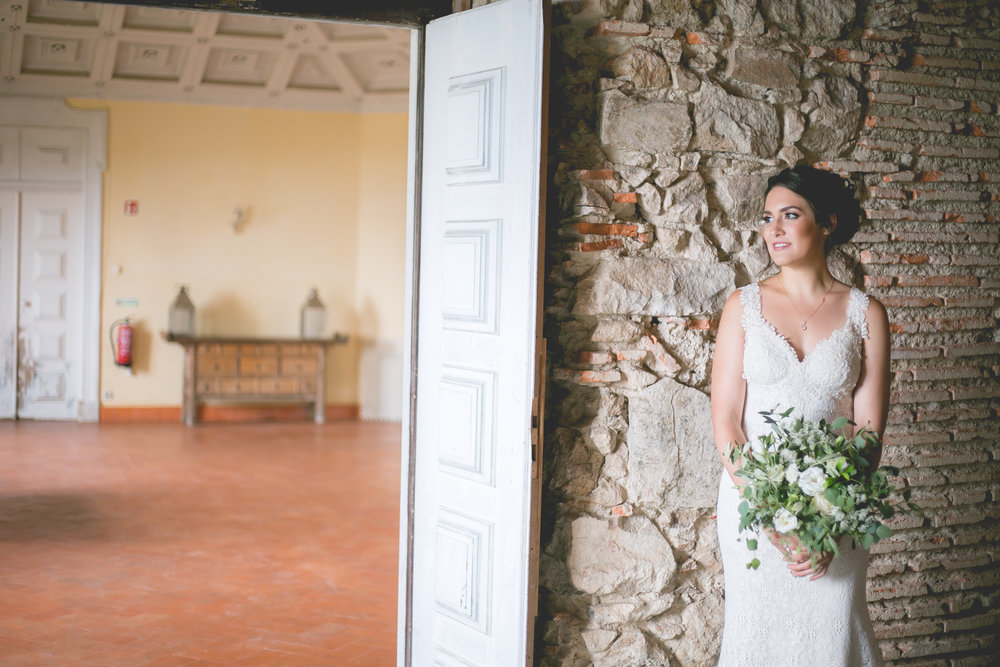 Monserrate Palace Portugal Destination Wedding First Look