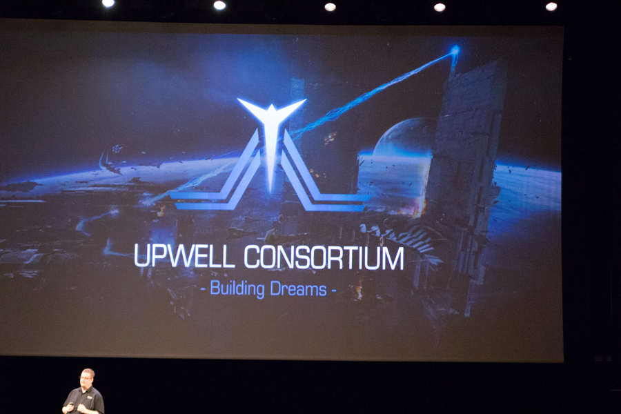 Upwell Consortium, who in no way, shape, or form, resemble Weyland-Yutani.