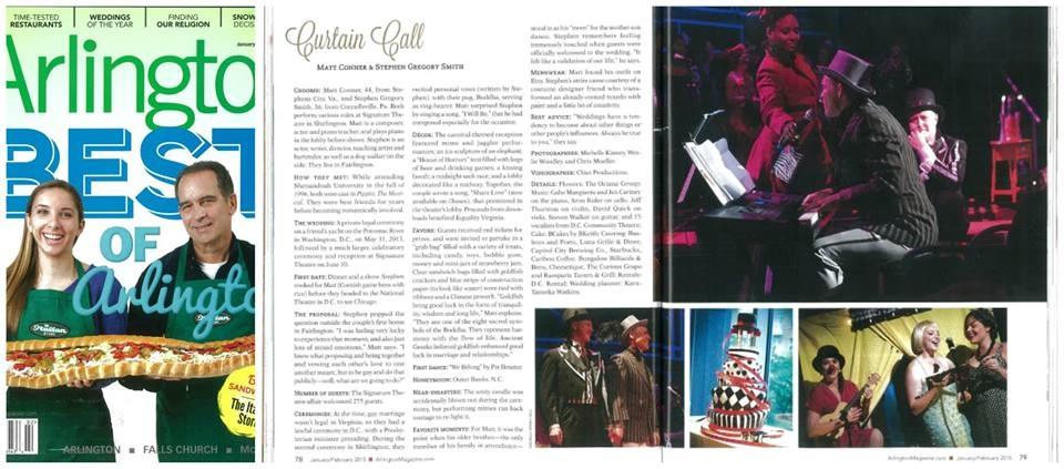 Arlington Magazine    Cover Photo : Michael Ventura