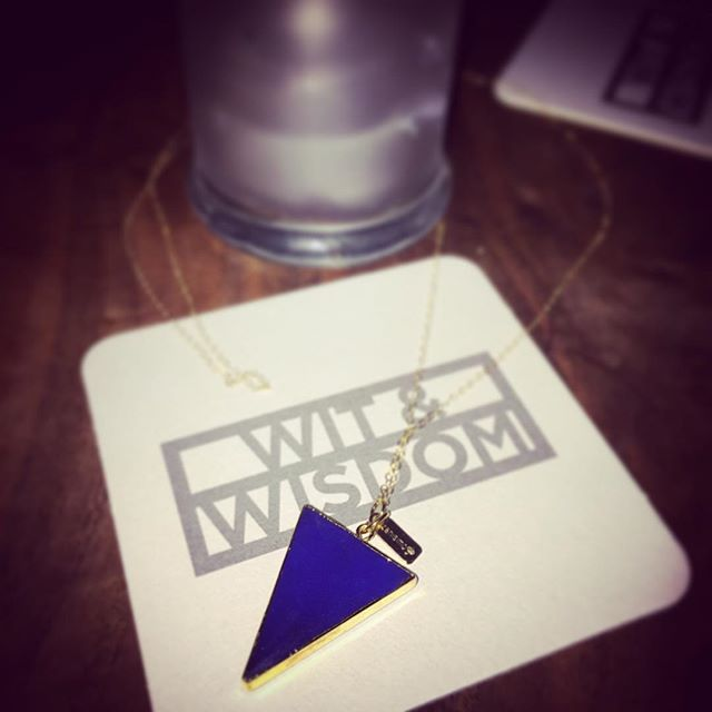 #itsback 💙💙http://www.zanisimo.com/boutique/blue-quartz-triangle #only2availablenow #cantgetenough #bmore #likesofewcanbe #shewillbe #zanisimo #zaniintheskywithdiamonds