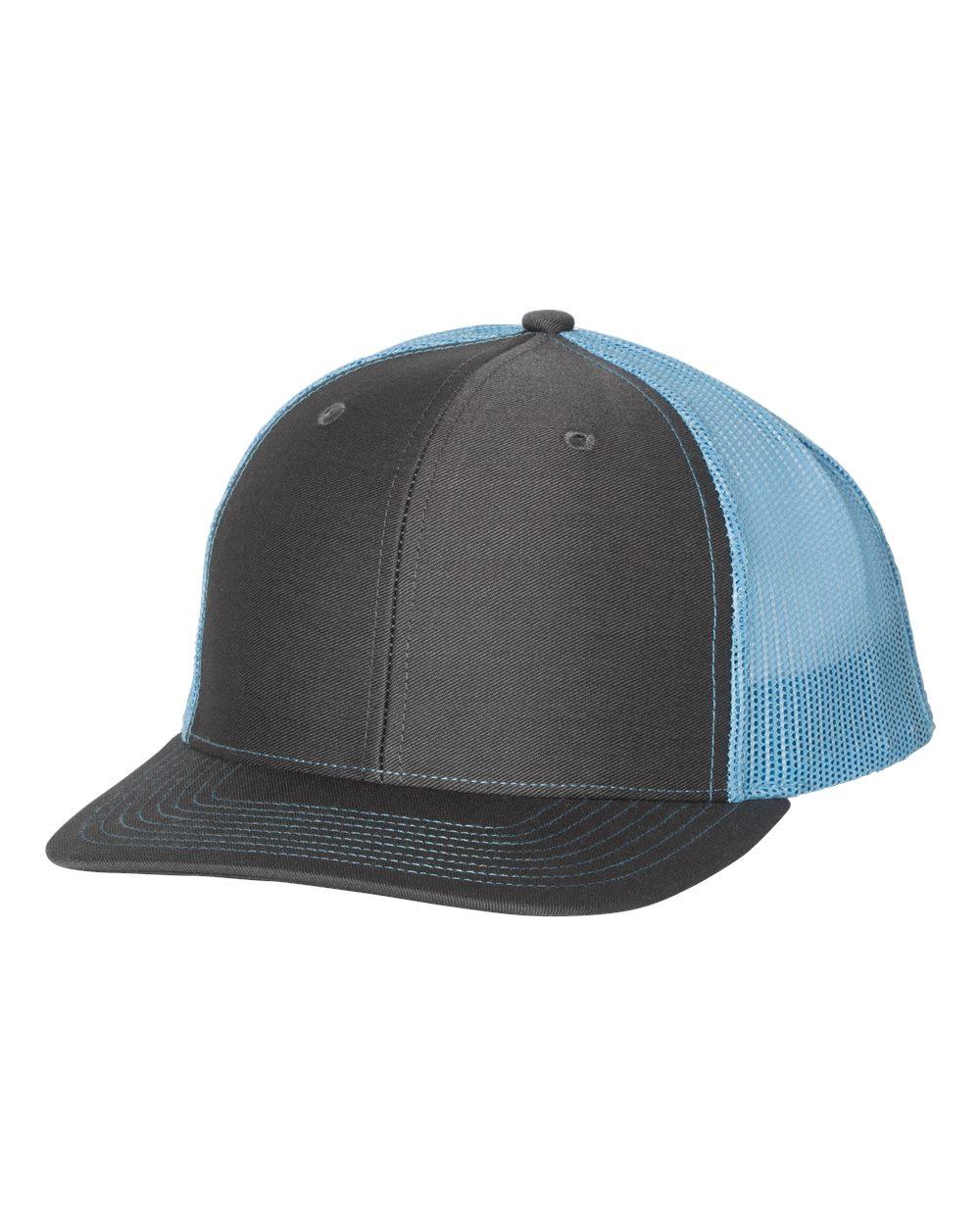 Charcoal / Columbia Blue