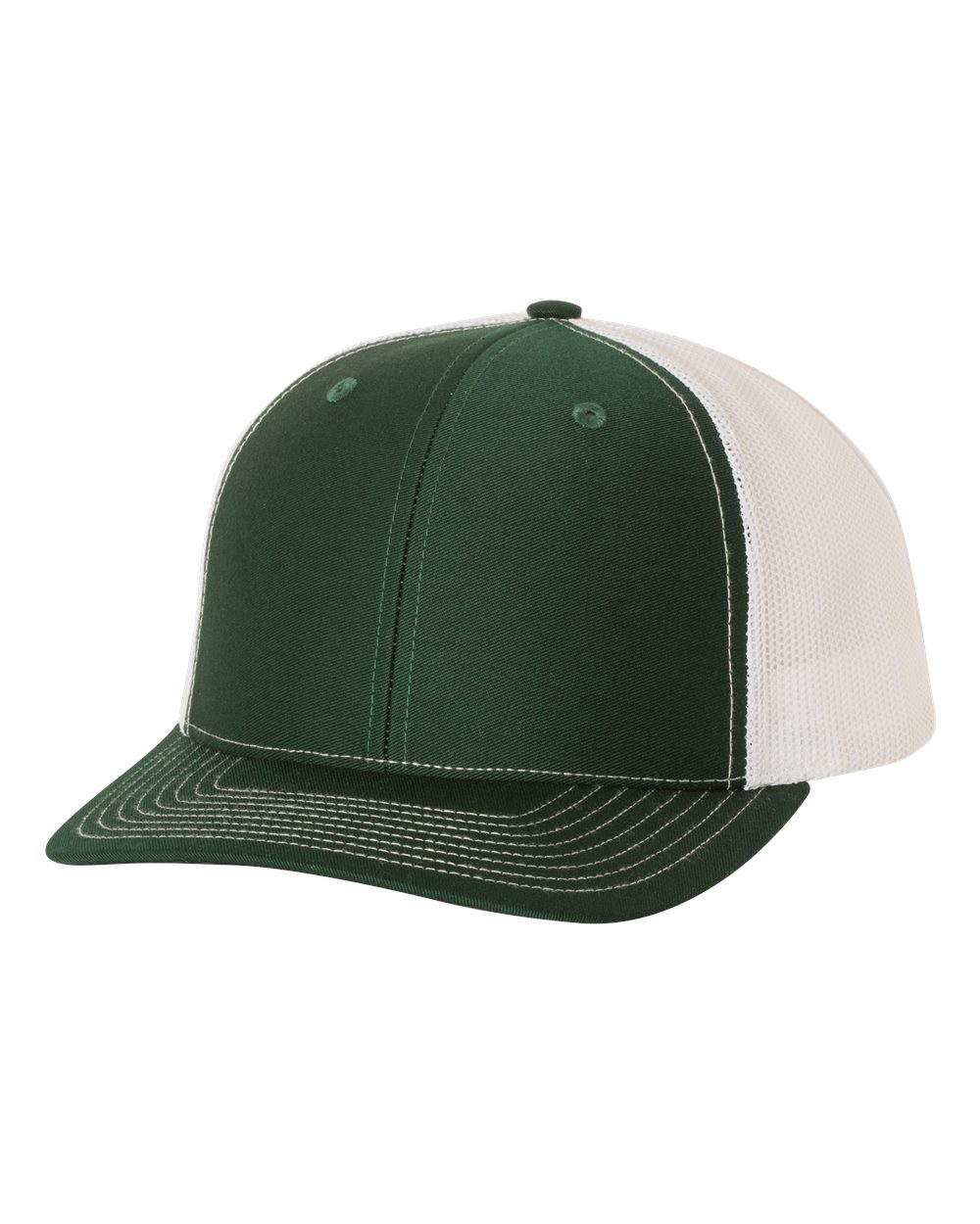 Dark Green / White