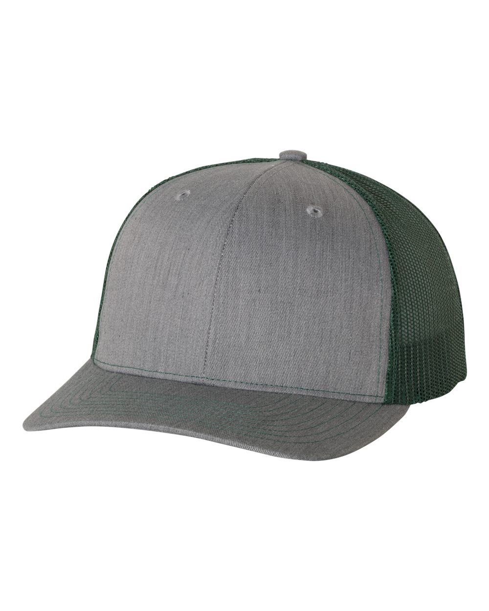 Heather Grey / Dark Green