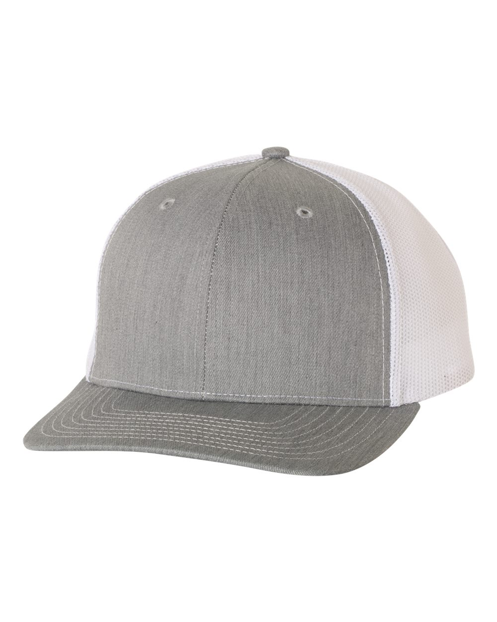 Heather Grey / White