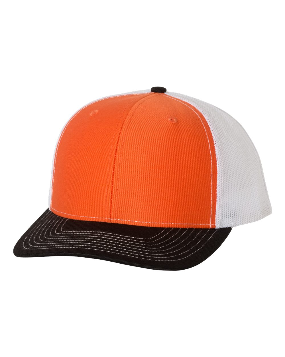 Orange / White / Black