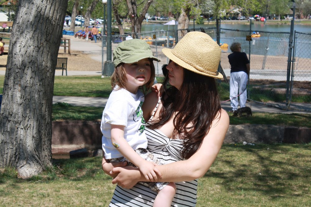 Another Mothers Day at Wash Park in the sun