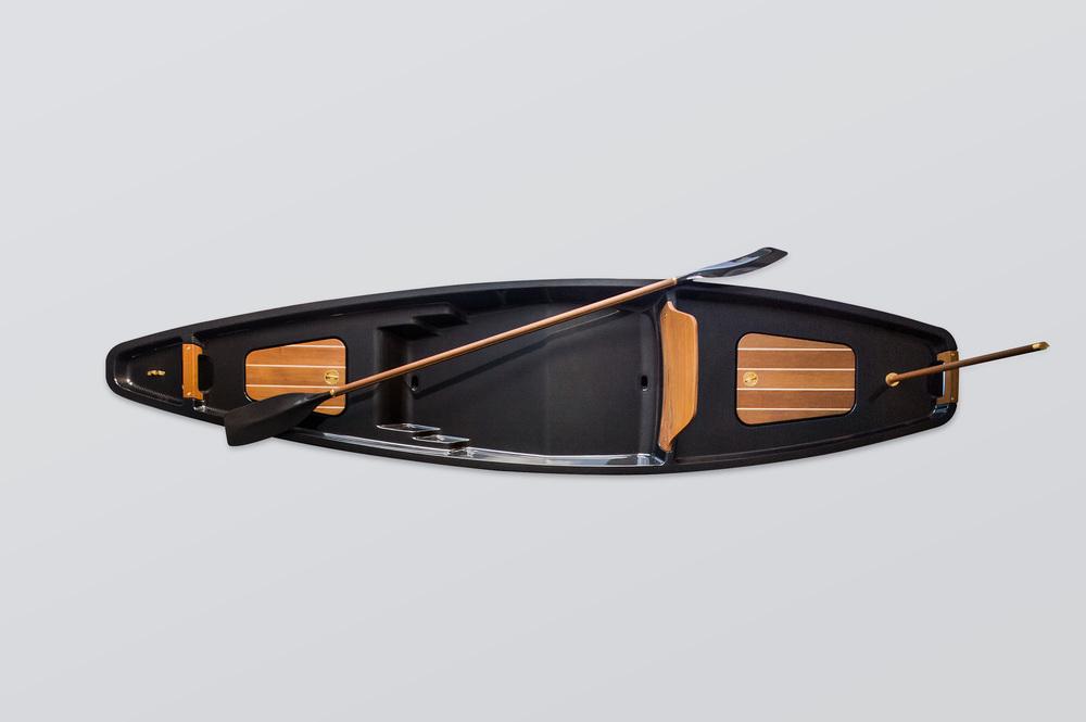Carbon fibre kayak