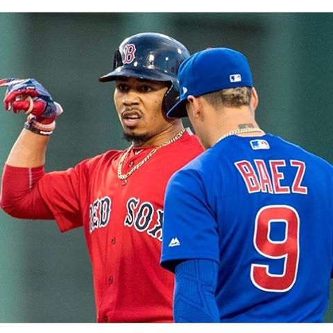 Could the @cubs vs. @redsox be a 2017 World Series preview? It would only be 99 years in the making ⚾️
