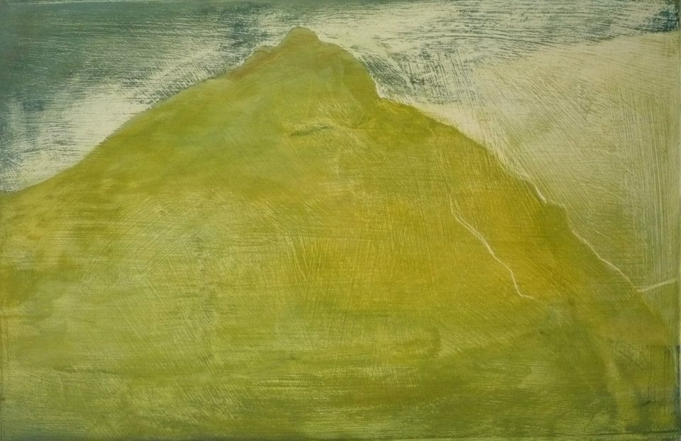 Buachaille Etive Mor - oil on board 33cm x 22cm