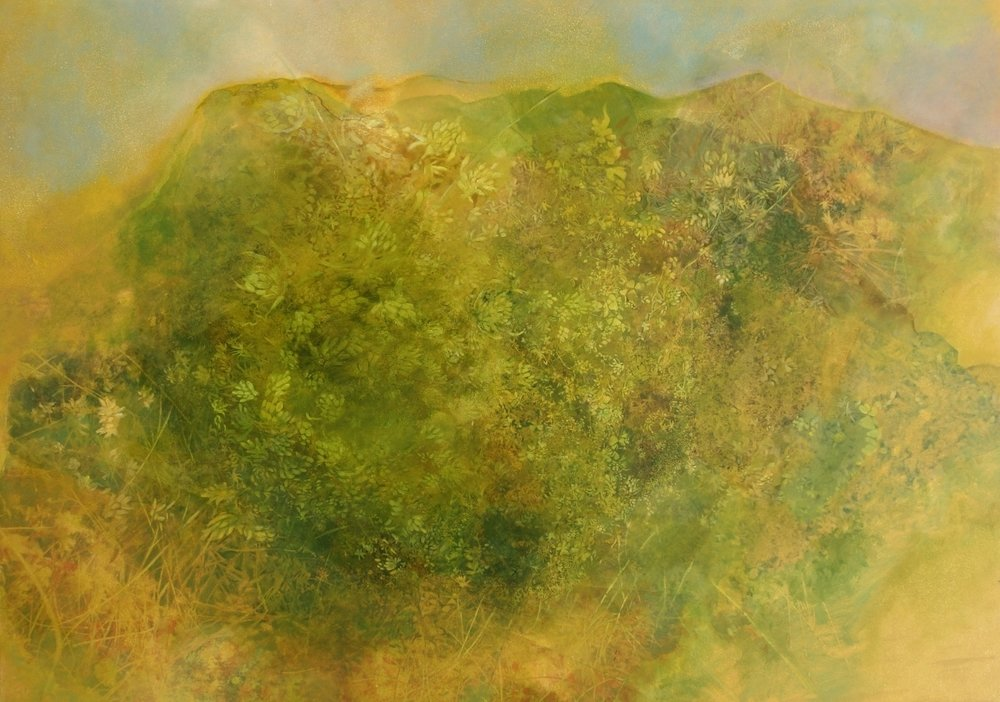 Moss Sidlaws - oil on board 69 x 90cm