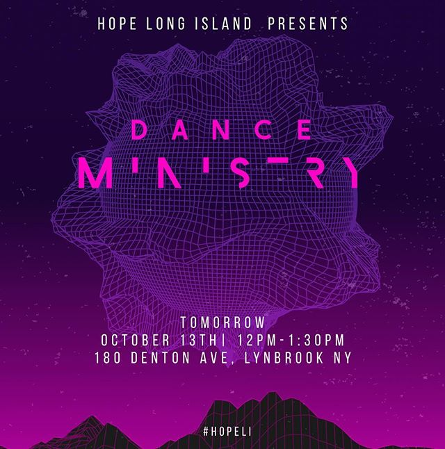 •Dance Ministry- kicks off• First practice tomorrow afternoon, wear something comfy. Ex: sweatpants, tee-shirt. Should be lots of fun.|| . 180 Denton Ave, Lynbrook NY