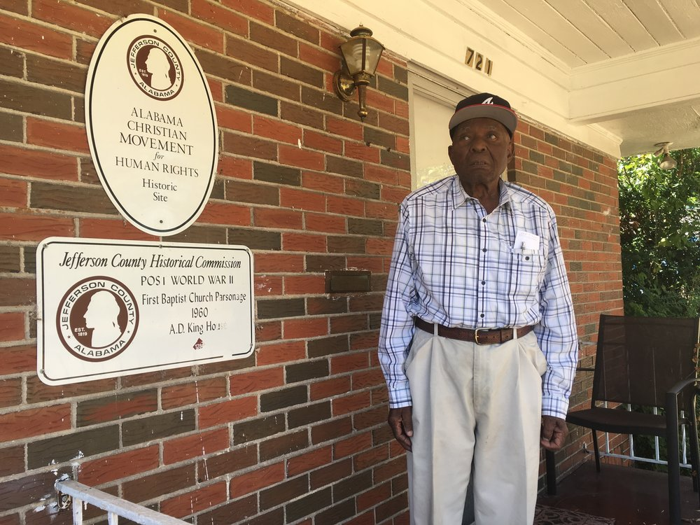 Omie Crockett, a deacon at First Baptist Church Ensley, bought the parsonage several years ago and says he's done his best to keep this piece of history in shape.