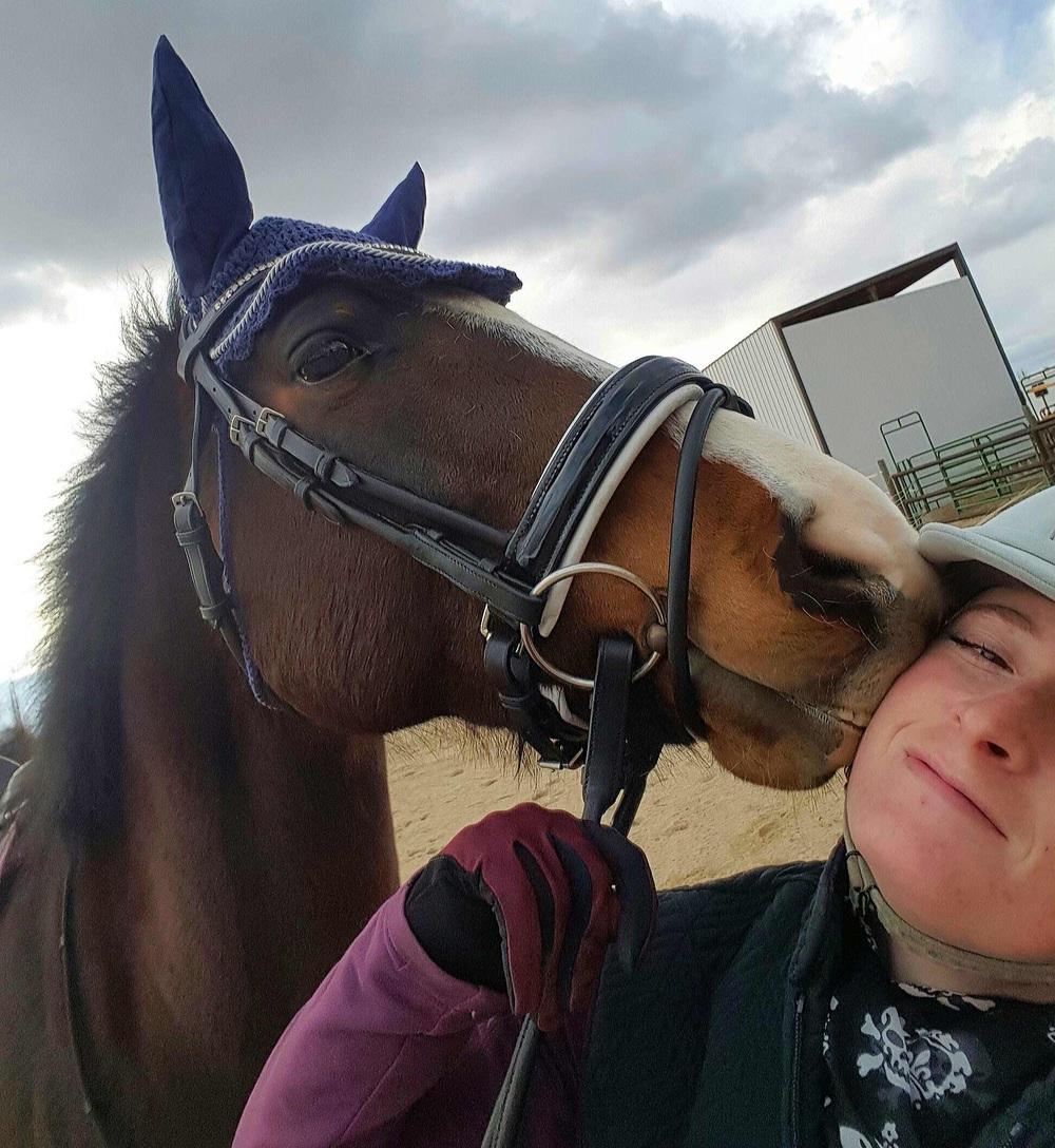 Horse kisses make the world go 'round