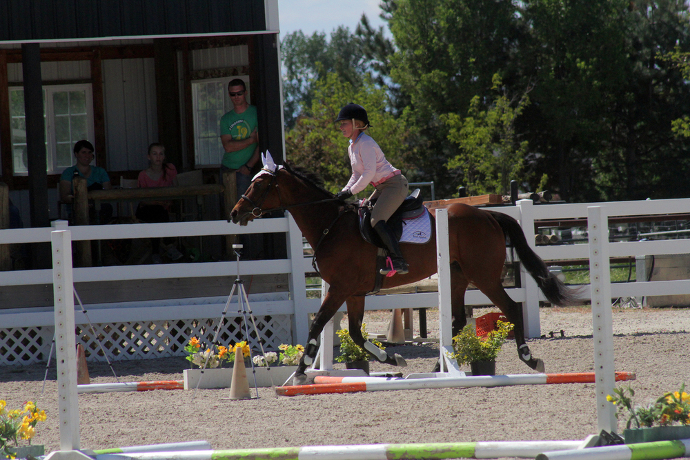 Last 'jump' on his course