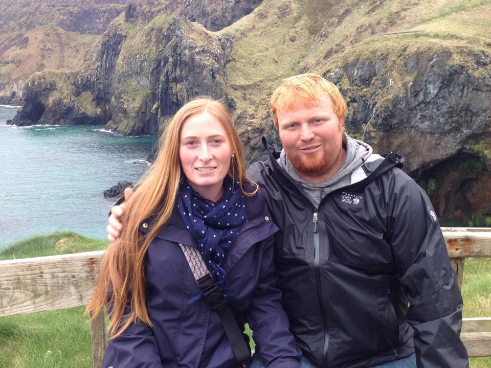 Ireland: just where a couple redheads belong
