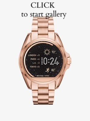 1. Michael Kors Smart Watch