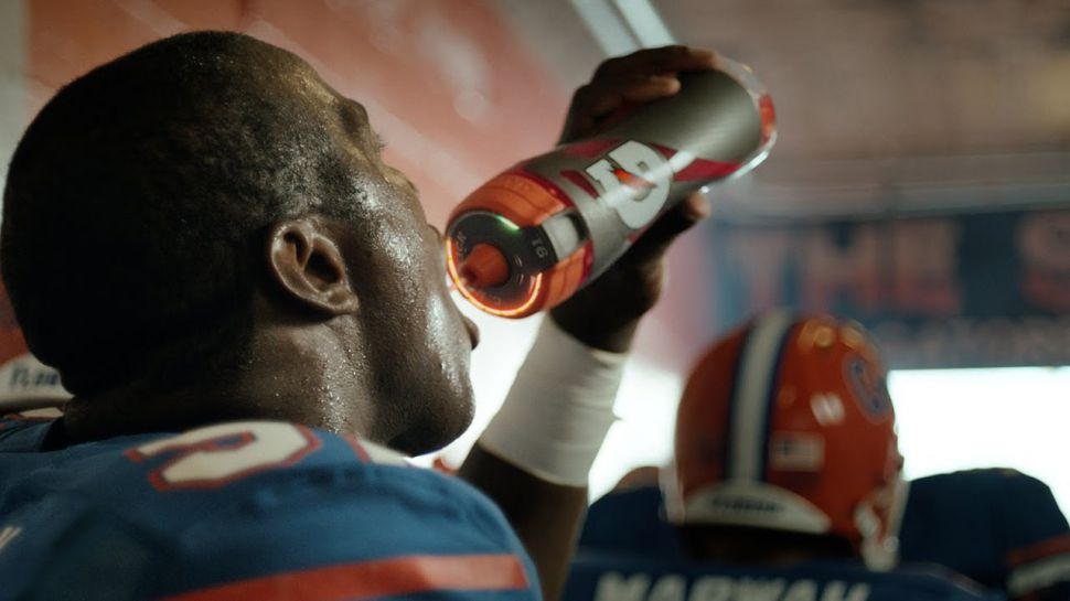 techradar piece on gatorade's smart bottle