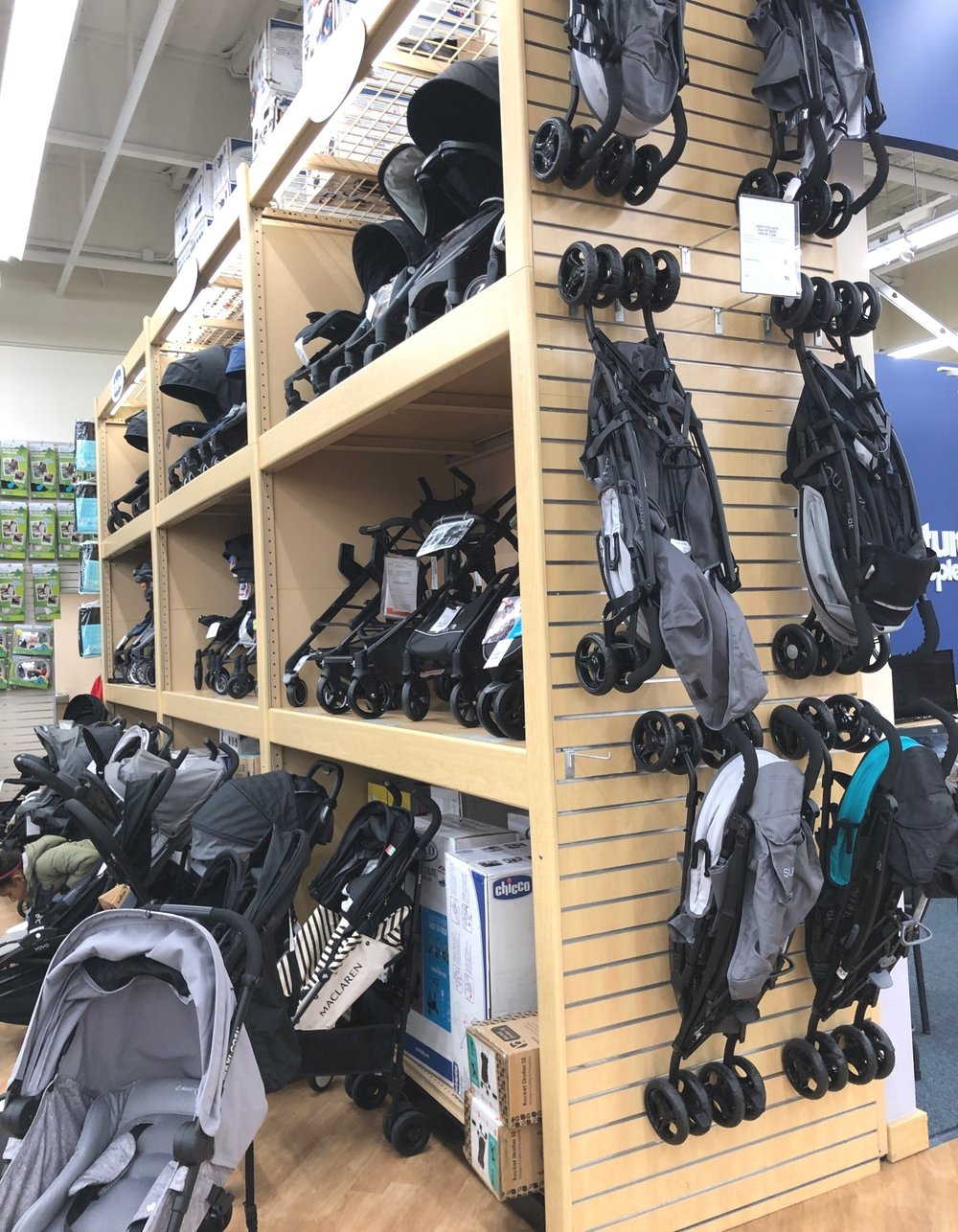 """Looking at the thousands of carseats and strollers I was thinking, """"how in the world am I supposed to know which one is the best/will work best for our baby?"""" Thank goodness these ladies were there to help."""